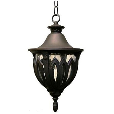 Melissa Tuscany 3-Light Outdoor Hanging Lantern; White