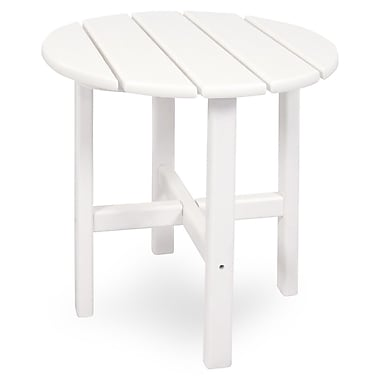 Ivy Terrace Classics Side Table; White