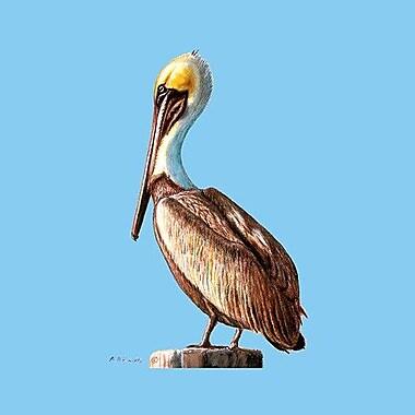 Betsy Drake Interiors Pelican Coaster (Set of 4)