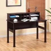 Hokku Designs Chelsia Basic Writing Desk with Hutch