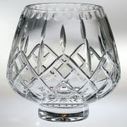 Majestic Crystal Plaza Crystal Footed Rose Decorative Bowl