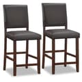Leick Back 24'' Bar Stool  (Set of 2)
