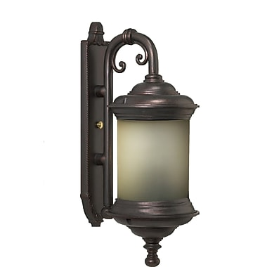 Melissa Tuscany 4-Light Outdoor Wall Lantern; Old Copper