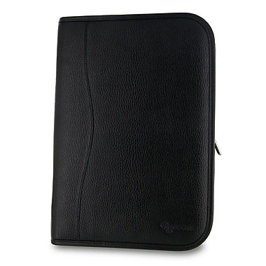 rooCASE Executive Portfolio Leather Case Cover for Nexus 10; Black