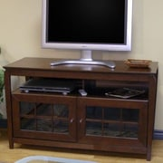 Wildon Home   Veneto TV Stand; Walnut