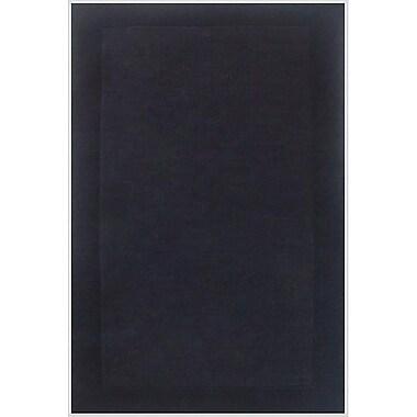 Acura Rugs Loom Black/Dark Black Rug; 8' x 10'6''