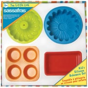 Sassafras The Little Cook 4 Piece Cake Pan Set