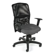 OFM High-Back Task Chair with Arms; Gray