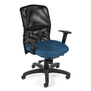 OFM High-Back Task Chair with Arms; Black
