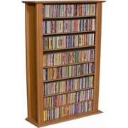 Venture Horizon VHZ Entertainment Regular Single Multimedia Storage Rack; Oak