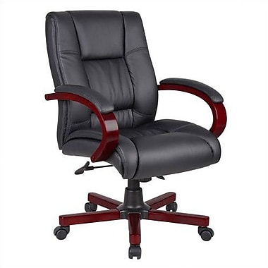 Aaria Eldorado Mid-Back Executive Chair; Not Included