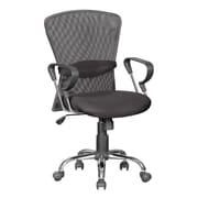 Hazelwood Home High-Back Mesh Office Chair with Arm Rest