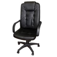 Hazelwood Home High-Back Executive Chair with Arms