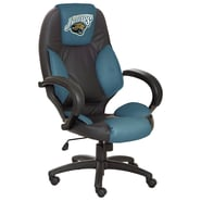 Tailgate Toss NFL Officially Licensed High-Back Office Chair; Jacksonville Jaguars