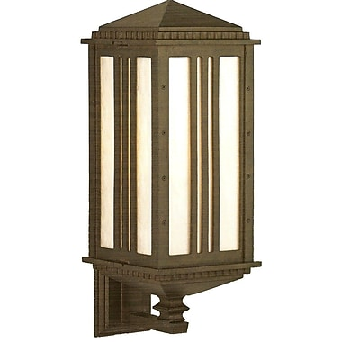 Melissa Parisian Elegance 1-Light Outdoor Sconce; Black