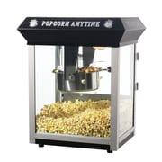 Great Northern Popcorn Popcorn Anytime 6 Ounce Popcorn Machine; Black