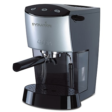 Gaggia Evolution Semi-Automatic Espresso Machine; Black