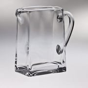 Majestic Crystal 6.75'' and 32 oz. High Quality Glass Pitcher