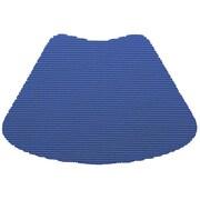 Kraftware Fishnet Wedge Placemat (Set of 12); Blue