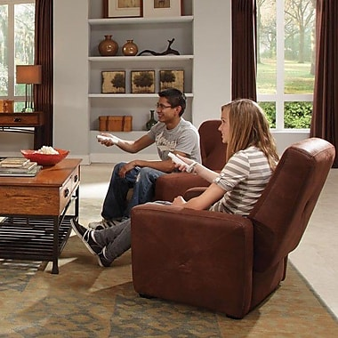 Home Styles Gaming Chair; Rustic Brown
