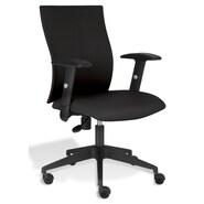 Jesper Office Jesper Office Kaja Office Chair with Arms; Black Fabric