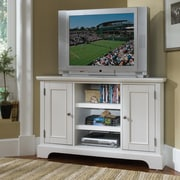 Home Styles Bedford 50'' Corner TV Stand; White