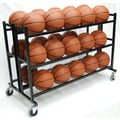 ProCage 35'' Heavy Duty Double Wide Ball Cart