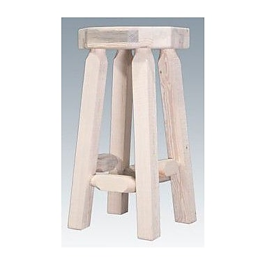 Montana Woodworks Homestead 30'' Bar Stool; Ready to Finish