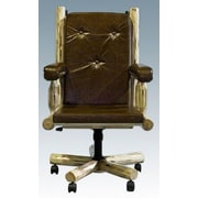Montana Woodworks  Montana Upholstered Office Chair; Ready