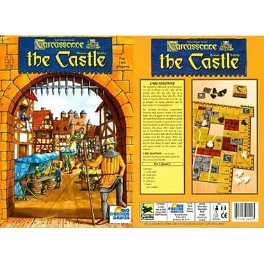Rio Grande Games Carcassonne The Castle Board Game