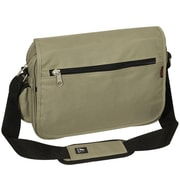 Everest Casual Messenger Bag; Khaki