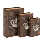 Woodland Imports 3 Piece Book Box Set