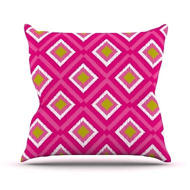 KESS InHouse Moroccan Tile Throw Pillow; 26'' H x 26'' W