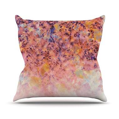 KESS InHouse Blushed Geometric Throw Pillow; 26'' H x 26'' W