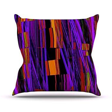 KESS InHouse Threads Throw Pillow; 18'' H x 18'' W