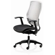 New Spec Executive Elastic Office Chair; Gray/Black