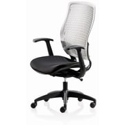 New Spec Conference Elastic Conference Chair; Gray/Black