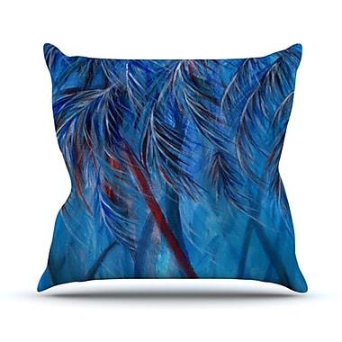 KESS InHouse Tropical Throw Pillow; 18'' H x 18'' W