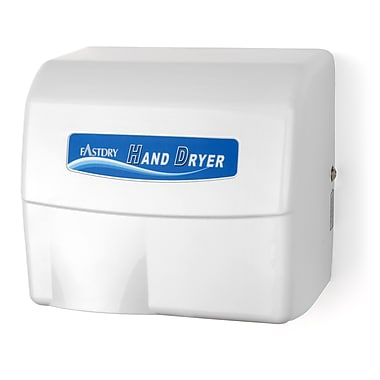 Palmer Fixture Economy Series Painted Cast Aluminum 110/120 Volt Hand Dryer in White