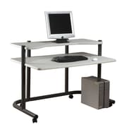 Studio Designs Pewter Computer Workstation; 48''