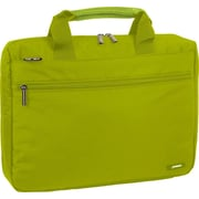 J World Research Laptop Briefcase; Olive Green