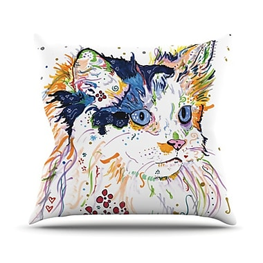 KESS InHouse Sophia Throw Pillow; 20'' H x 20'' W