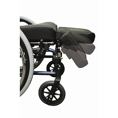 The Comfort Company Swing Away Amputee Support Wheelchair Footrest; 12'' W x 14'' D