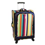 Jenni Chan 25'' Multi Stripes 360 Quattro Spinner Suitcase