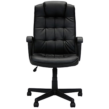 Furinno Hidup Boss High Back Leather Executive Office Chair