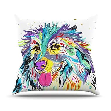 KESS InHouse Daily Throw Pillow; 20'' H x 20'' W