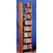Wood Shed 800 Series 208 CD Backless Dowel Multimedia Storage Rack; Dark