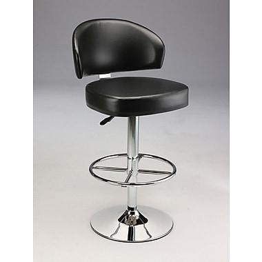 Creative Images International Adjustable Height Bar Stool; Brown