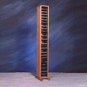 Wood Shed 100 Series 80 CD Multimedia Storage Rack; Unfinished