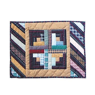 Patch Magic Dusty Diamond Log Cabin Placemat (Set of 4)